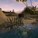 Останки огромных рыб на Острове Аллигаторов