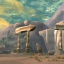 Античные колонны в Ледяном Лабиринте