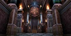 Языческий храм - подготовка к жертвоприношению
