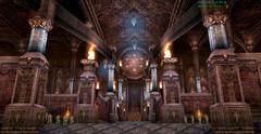 Языческий храм  - холл