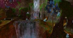Колония Фей - водопад (локация ГоД)