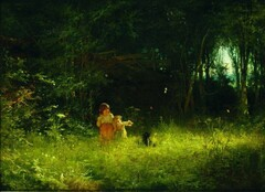 Иван Крамской - Дети в лесу - 1887.JPG